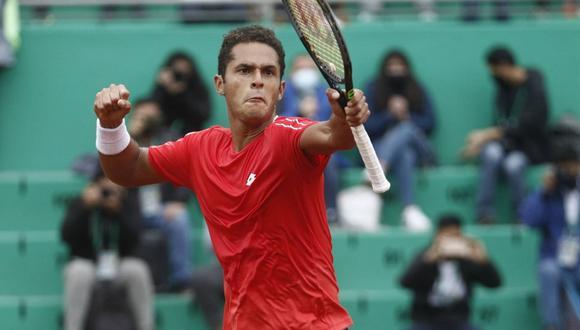 Juan Pablo Varillas clasificó a la final del ATP Challenger Tour de Ambato. (Foto: Twitter)