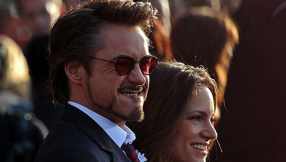 Su esposa Susan Downey espera una niña. (AFP)