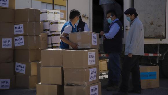 Junín: entregan equipos de protección personal y 1322 oxímetros para cuatro redes de salud (Foto referencial).