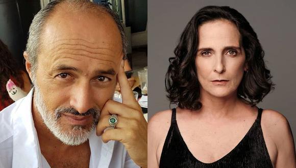 """Carlos """"Cachín"""" Alcántara y Norma Martínez disfrutan del anonimato en Málaga. (Foto: Composición/Instagram)"""