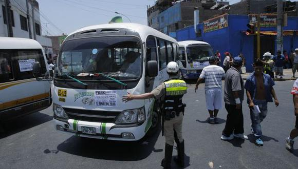 'Chosicano': Anuncian paro contra papeletas de la Municipalidad de Lima. (USI)