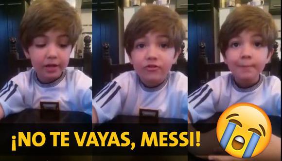 Tras este mensaje que ha conmovido a miles, ¿Messi seguirá firme en su decisión?