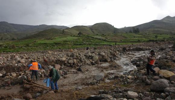 A PREVENIR. Es necesario tomar acciones para evitar que las posibles lluvias afecten la agricultura. (Heiner Aparicio)