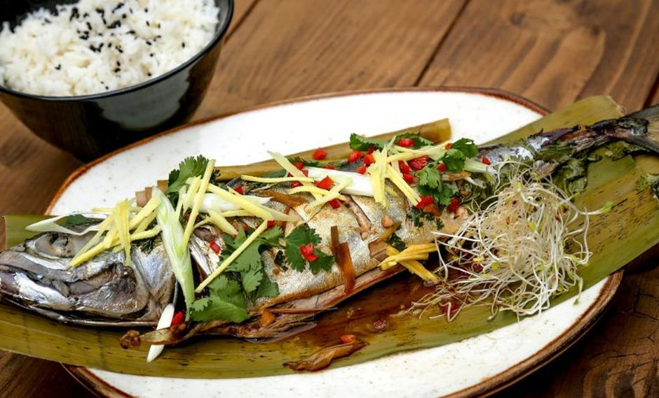 Pescado al estilo thai. (Foto: Difusión)