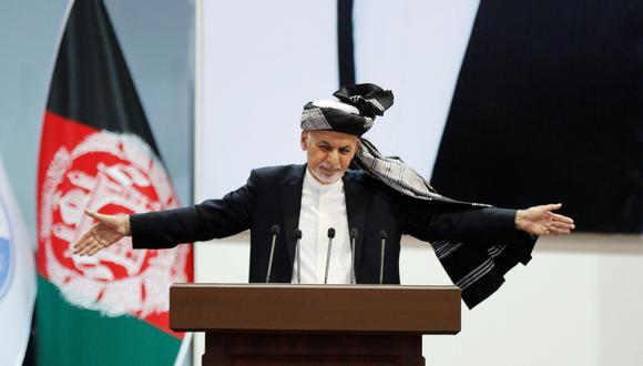 Ashraf Ghani, presidente de Afganistán. (Foto: EFE)