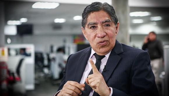 Agravios contra Avelino Guillén ocurrieron el martes 14 de setiembre. (Foto: Archivo El Comercio)