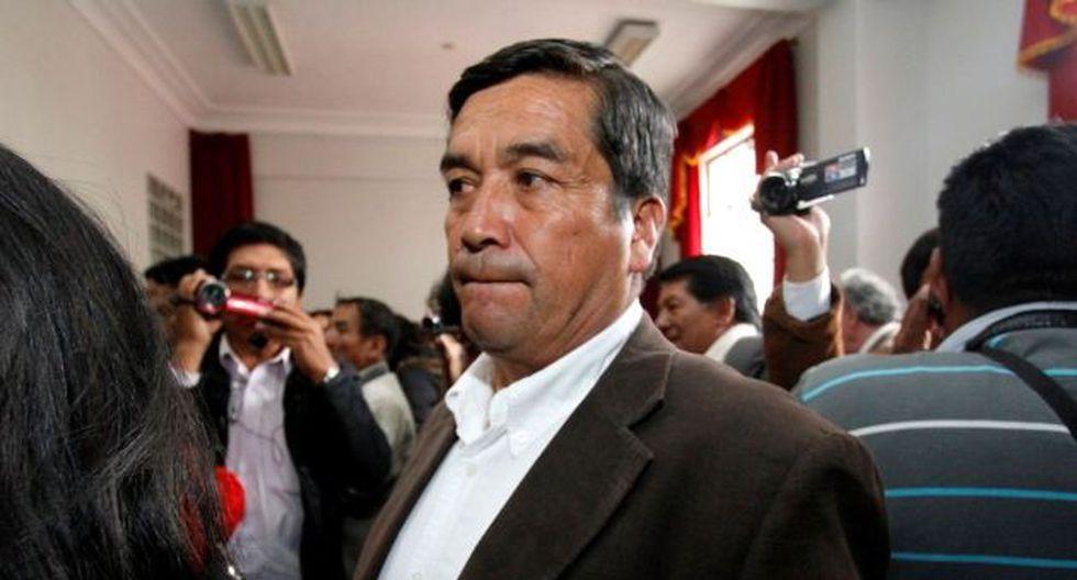 Benicio Ríos postuló a la presidencia regional de Cusco. (Andina)
