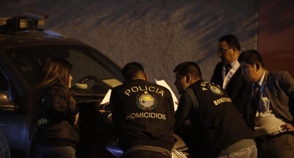 homicidio en La Molina