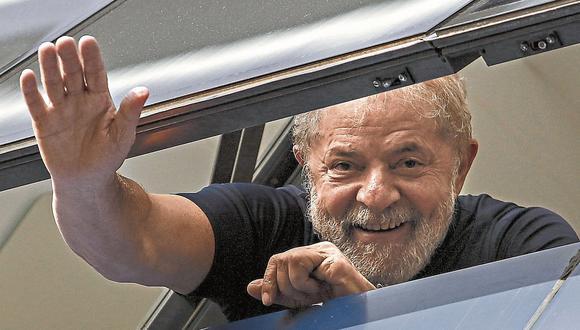 CUESTIONADO. Lula está inhabilitado para la función pública. (AFP)