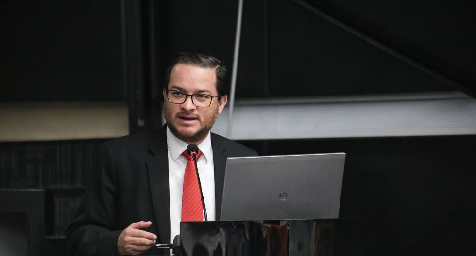 """""""Perú es respetuoso de sus compromisos comerciales con los Estados Unidos"""", afirma Edgar Vásquez. (Foto: Mincetur)"""