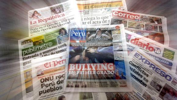 CONTRIBUIR A NUESTRA SOCIEDAD POR ENCIMA DE TODO (Perú21)