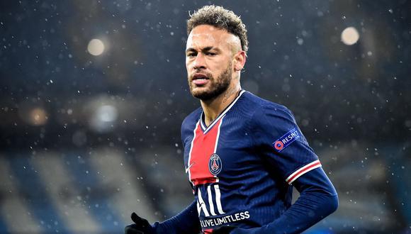 Neymar renovó este fin de semana su contrato con PSG hasta la temporada 2025. (Foto: EFE)