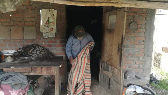 Arequipa: policías ayudaron a reparar la casa de un hombre de 93 años (Foto: Twitter PNP)