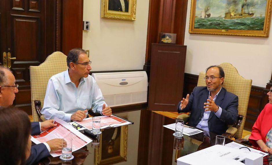 Martín Tanaka integró la comisión presidida por Fernando Tuesta. (Foto: Difusión)