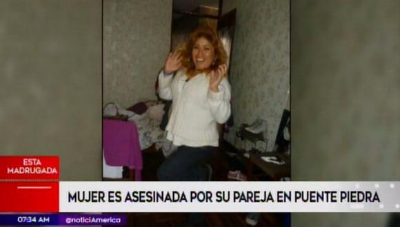La Depincri de Puente Piedra asumió las investigaciones. (Foto: Captura/América Noticias)