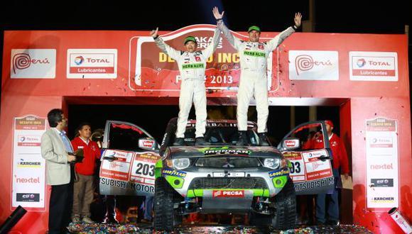REYES DE LA ARENA Tomás Hirahoka y Francisco León brillaron los tres días de competencia. (Difusión)
