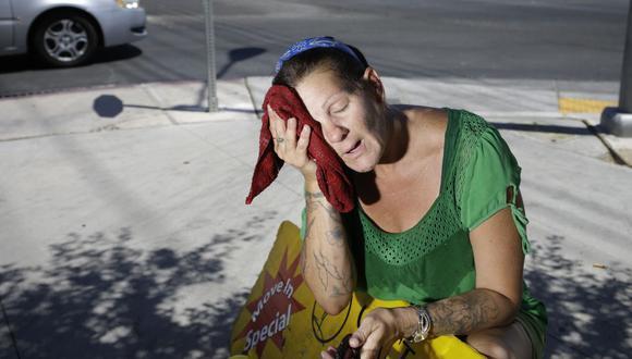 California se prepara para una brutal ola de calor en plena pandemia. (AP Photo/John Locher)