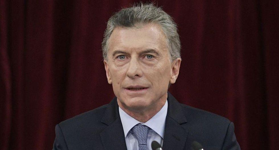El gobierno de Macri enfrentó una crisis pidiendo un millonario crédito al Fondo Monetario Internacional. (Foto: AFP)