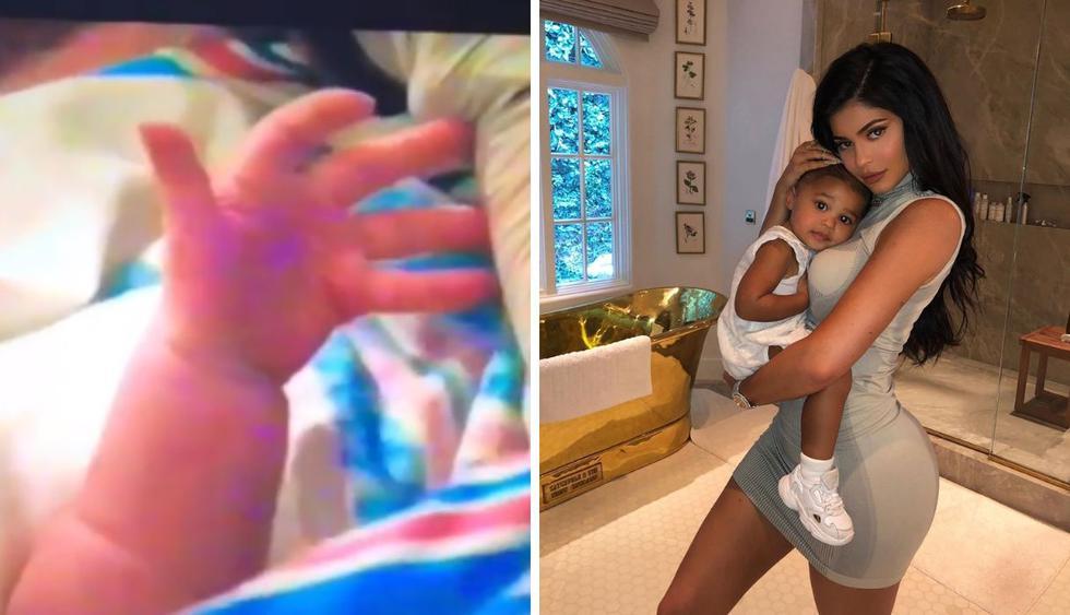 La empresaria compartió en su cuenta de Instagram momentos inéditos del nacimiento de su pequeña hija. (Foto: @kyliejenner)