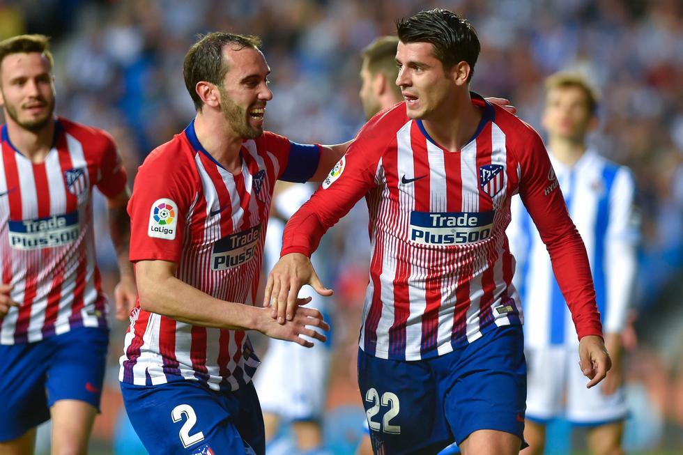 Atlético de Madrid ganó 2-0 a la Real Sociedad por LaLiga Santander. (AFP)