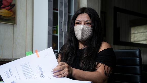 Flor de María Erazo Marín es fiscal adjunta de Rocío Sánchez en el equipo especial del caso Cuellos Blancos.  (Eduardo Cavero / GEC)