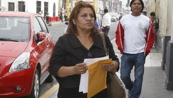 Bertha Chanduví dice que su hija se volvió violenta tras sufrir una violación. (USI)