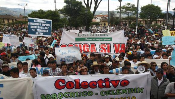 ABIERTO RECHAZO. La población se concentró en la Plaza de Armas para exigir el cese de la violencia. (Difusión)