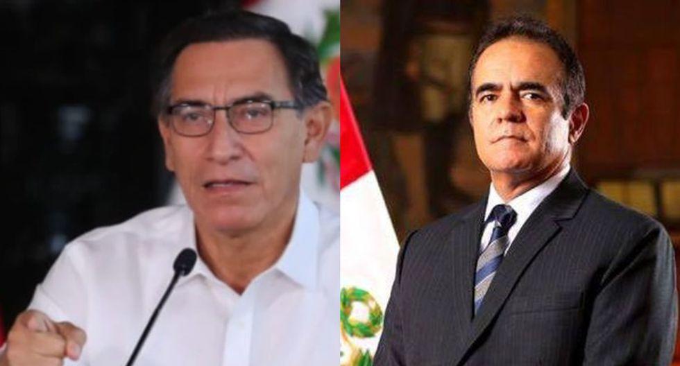 """Martín Vizcarra al actual ministro del Interior: """"Le hemos pedido que atienda bien al personal de la PNP"""""""