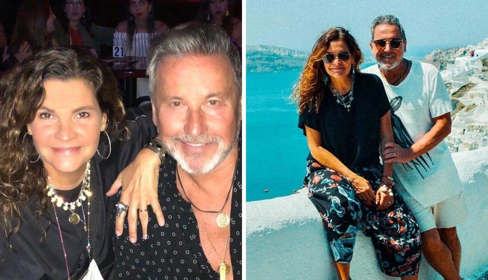 La pareja se está dando unas vacaciones antes del concierto de Montaner el 31 de agosto en Lima. (Foto:@ricardomontaner)