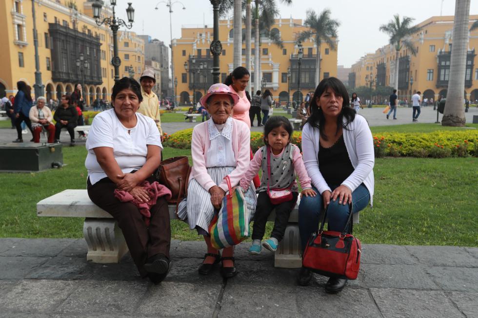 Celebración por el Día de la Madre.(Lino Chipana / GEC)