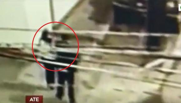 El noticiero América Noticias difundió imágenes previas a la muerte de la joven de 28 años, cuyo cuerpo fue hallado carbonizado dentro de un cuarto alquilado de una vivienda. (Captura América TV)