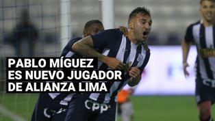 Alianza Lima anuncia el regreso de Pablo Míguez para afrontar la Liga 2