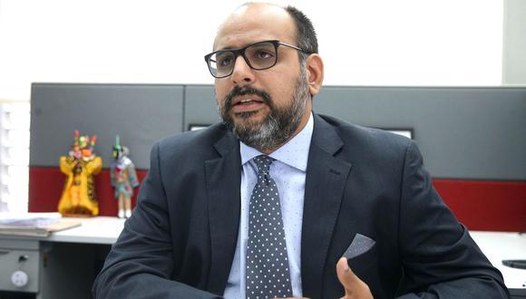 Ministro de Educación, Daniel Alfaro. (Foto: Andina)