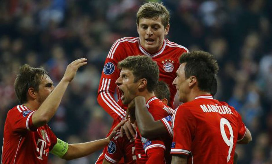 Bayern Munich le clavó la estocada al Manchester United. (Reuters)