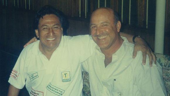 Sociedad Anónima. Alejandro Toledo y 'Avi' Dan On en otros tiempos. Ambos deben explicaciones. (USI)
