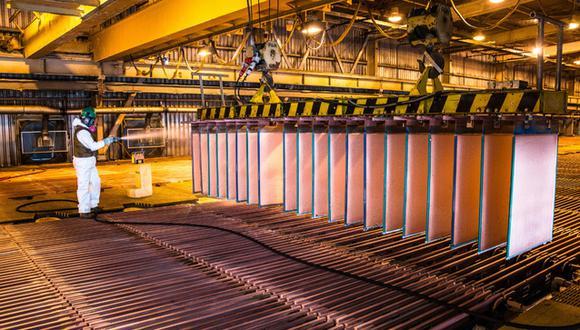 El descenso en la producción del metal rojo se dio como consecuencia de la menor ley de mineral obtenido por las mineras Las Bambas, Antapaccay y Chinalco. (Foto: Minem)