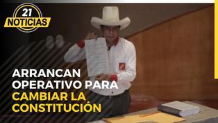 En Perú Libre arrancan operativo para cambiar la Constitución