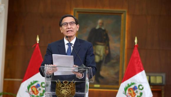 """Martín Vizcarra advierte al Congreso: """"La reforma universitaria no se negocia"""". (Presidencia)"""