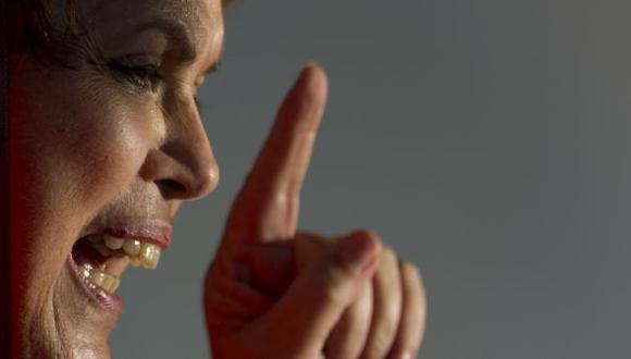 ALZARÁ SU VOZ. Dilma Rousseff buscará una mayor protección en Internet tras espionaje de EE.UU. (AFP)