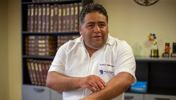 Cuidado. Carlos Salazar advierte sobre peligros de la radiación. (GEC)