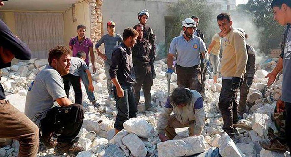 El pasado abril, EE.UU., en coordinación con Francia y el Reino Unido, lanzó un centenar de misiles contra instalaciones sirias tras acusar al régimen de un ataque químico en Duma. (Foto referencial: Human Rights Watch)