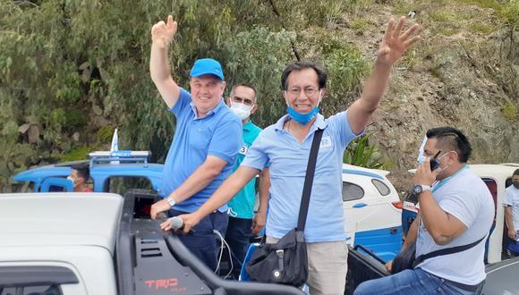 Candidato López Aliaga no ha confirmado aún su participación en debate del JNE. (Foto: Renovación Popular Huánuco)