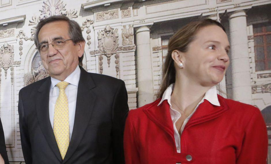Jorge del Castillo y Luciana León será sometidos a un proceso disciplinario dentro del Apra. (PikoTamashiro/Perú21)