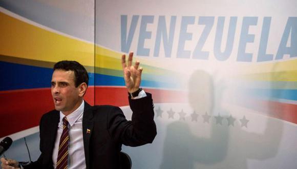 """Henrique Capriles tiene """"responsabilidad"""" por irregularidades administrativas en gobernación según Contraloría (Efe)."""