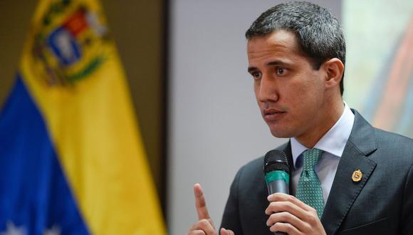 El presidente interino de Venezuela, Juan Guaidó, dijo no saber exactamente lo que sucedía el día que cruzó la frontera. (Foto: AFP)