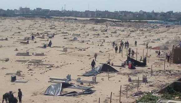 Cien familias habían invadido el cementerio Mampuesto, que fue arrasado por los huaicos de 2017.