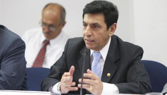Aníbal Sánchez, titular del INEI, destacó avances. (USI)