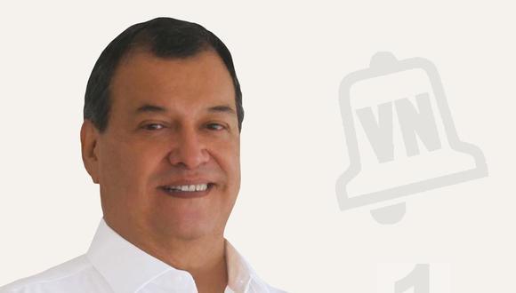 El exministro Jorge Nieto postula al Congreso de la República con el Nº 1 por Victoria Nacional.