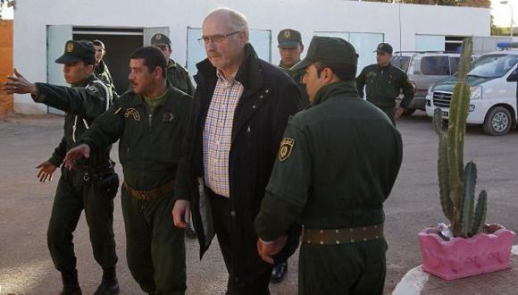 OPERACIÓN. Fueron rescatados 107 trabajadores extranjeros. (Reuters)