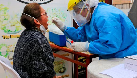 En lugares estratégicos de Lima Provincias se tomarán pruebas de antígeno. (Foto: Gobierno Regional de Lima)